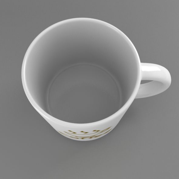 coffee tea cup 002 3d model max fbx jpeg jpg obj 206549