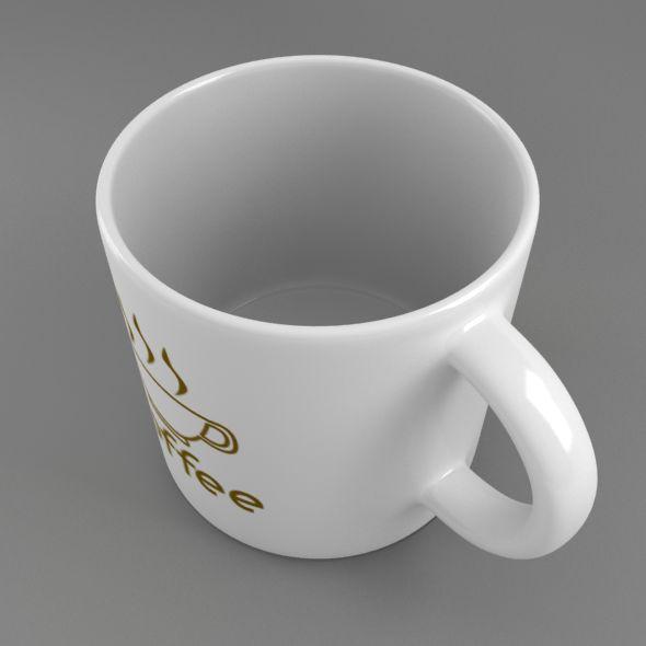 coffee tea cup 002 3d model max fbx jpeg jpg obj 206550