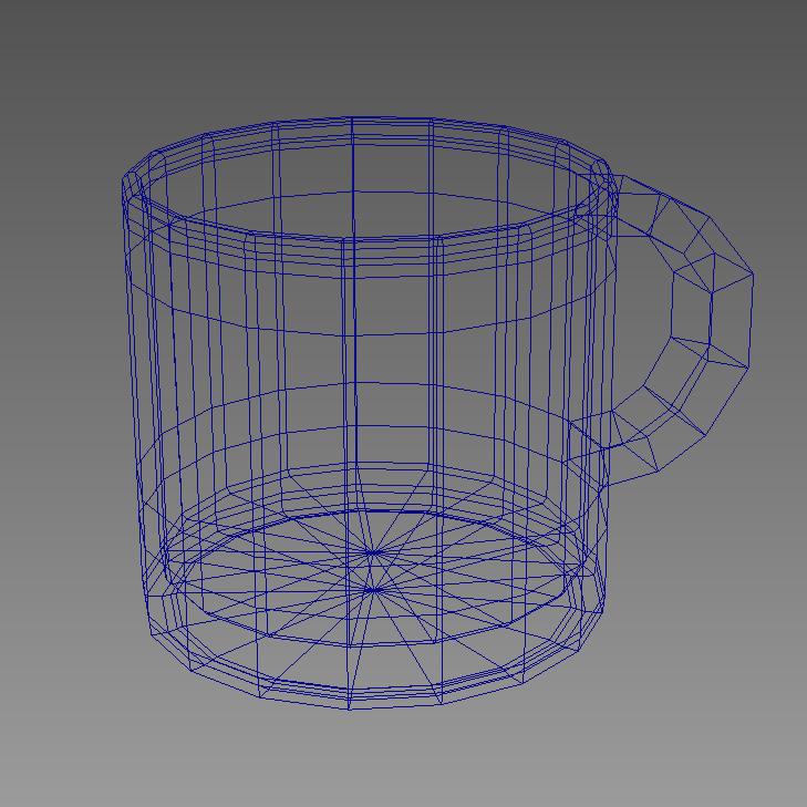 coffee tea cup 002 3d model max fbx jpeg jpg obj 206554