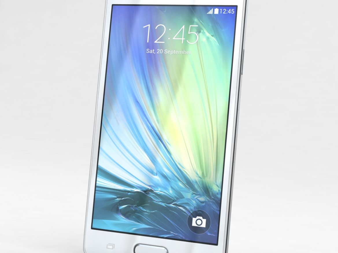 Samsung Galaxy A3 and A3 Duos White ( 510.97KB jpg by NoNgon )