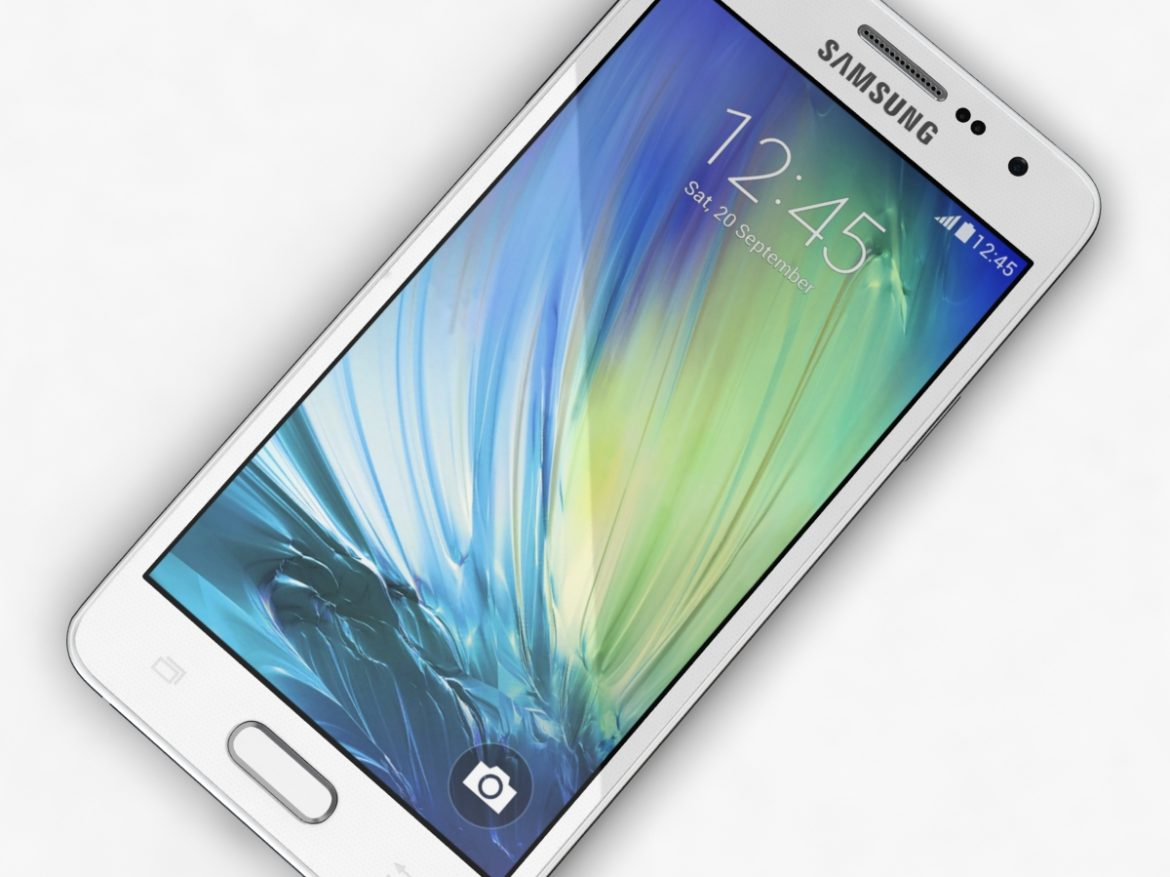 Samsung Galaxy A3 and A3 Duos White ( 559.73KB jpg by NoNgon )