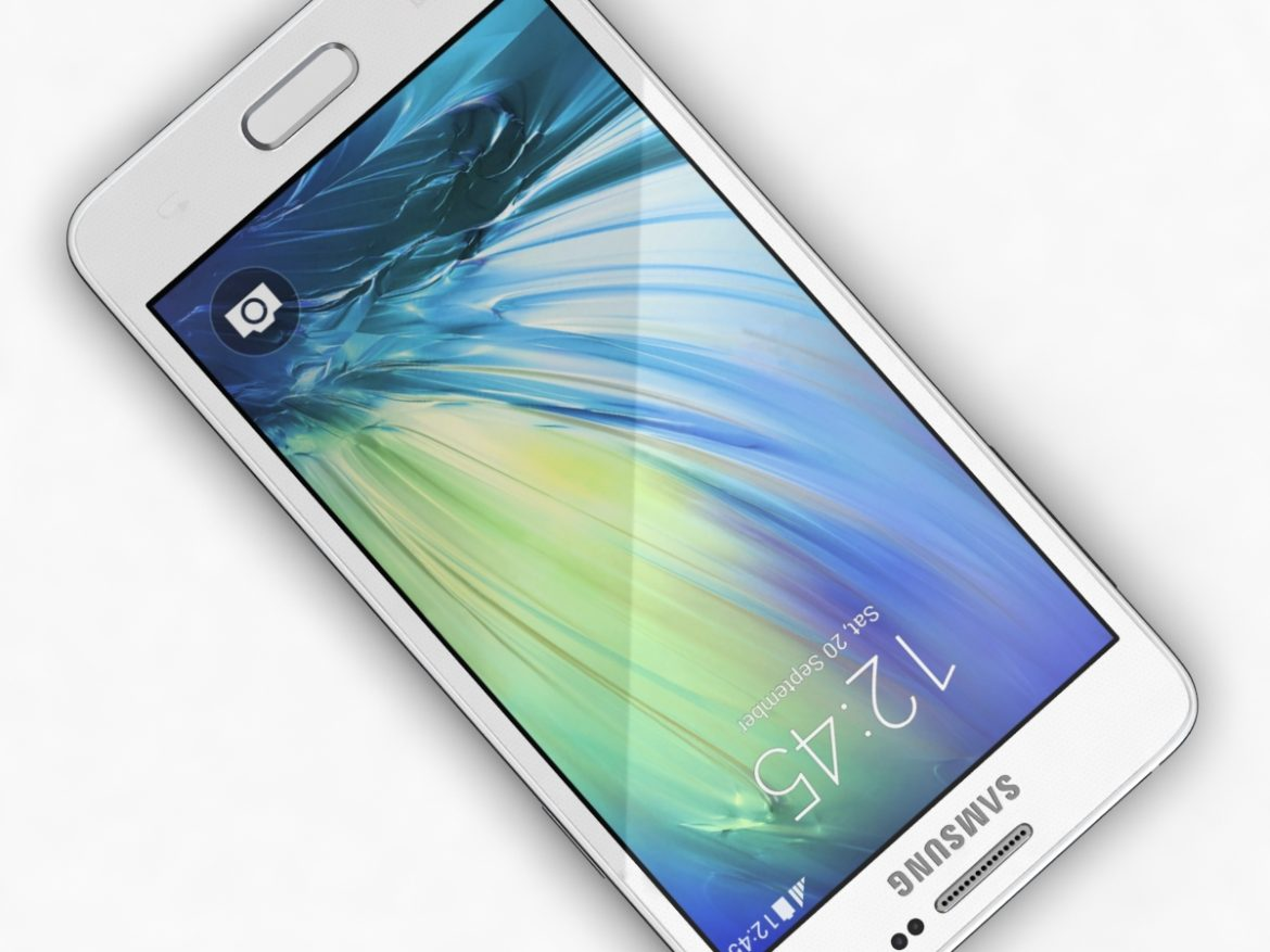 Samsung Galaxy A3 and A3 Duos White ( 565.99KB jpg by NoNgon )