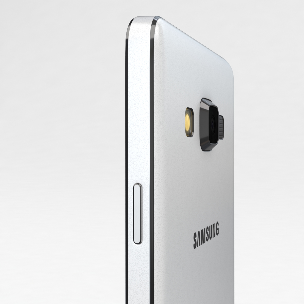 samsung galaxy a3 and a3 duos white 3d model 3ds max fbx c4d obj 206591