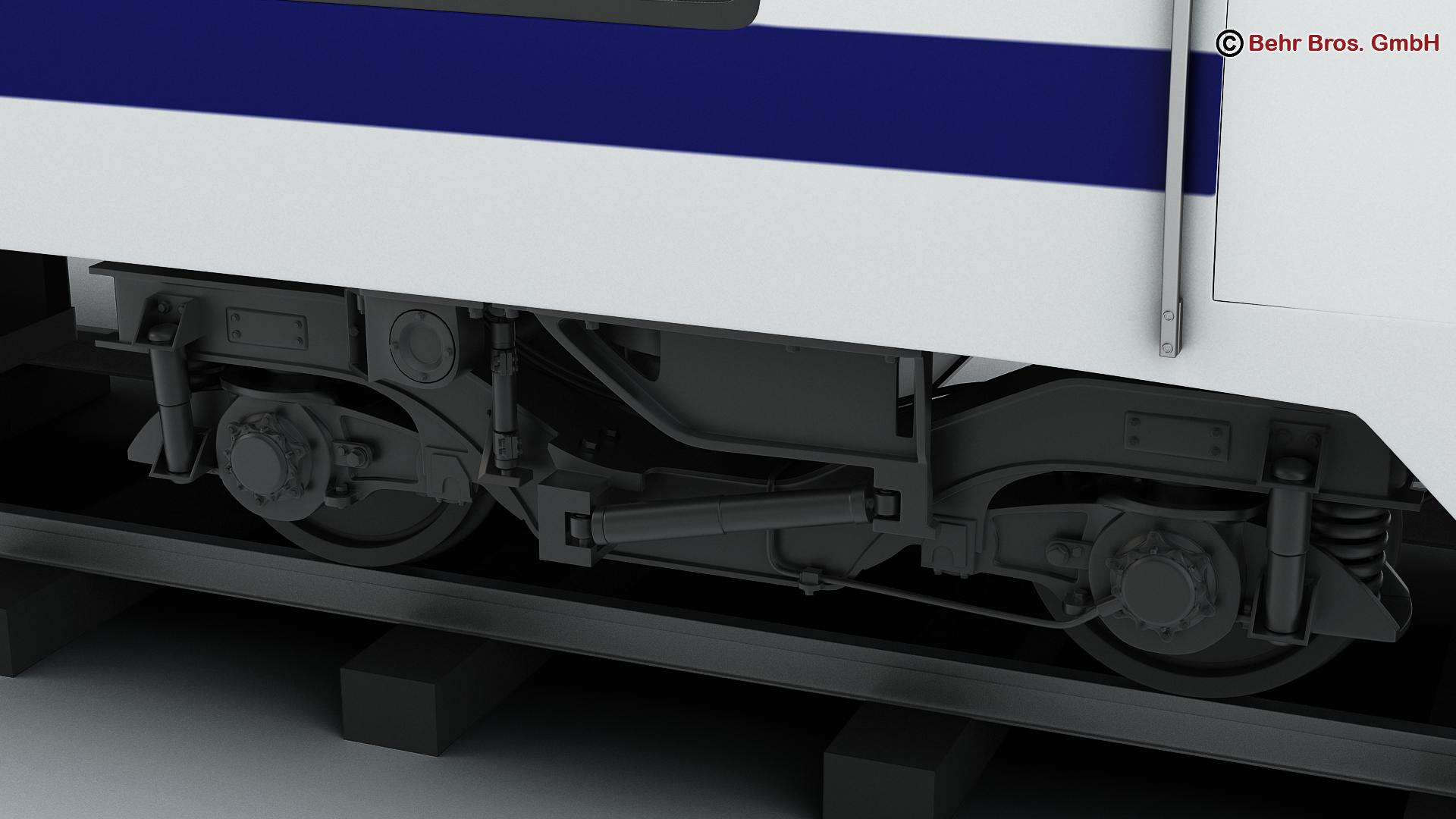 generic commuter train 3d model 3ds max fbx c4d ma mb obj 206614