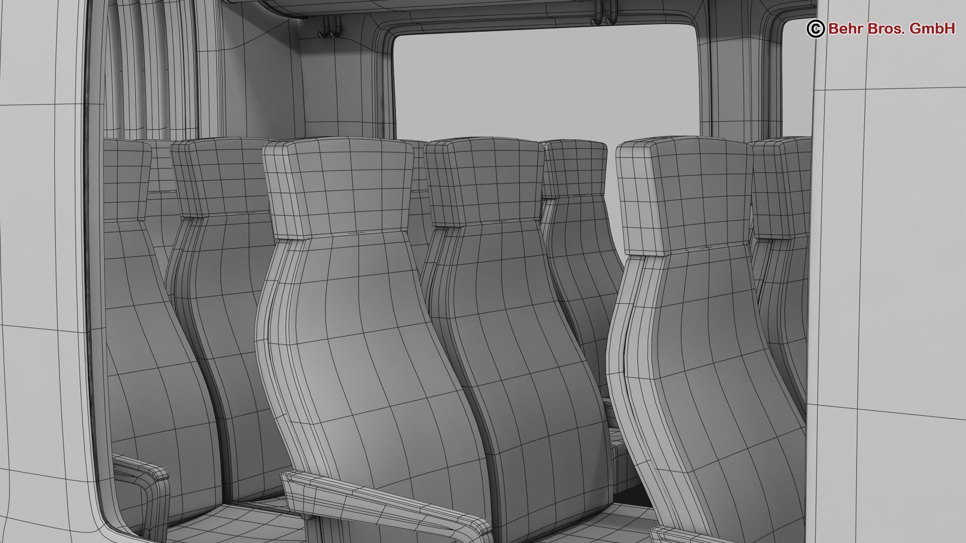 generic commuter train 3d model 3ds max fbx c4d ma mb obj 206640
