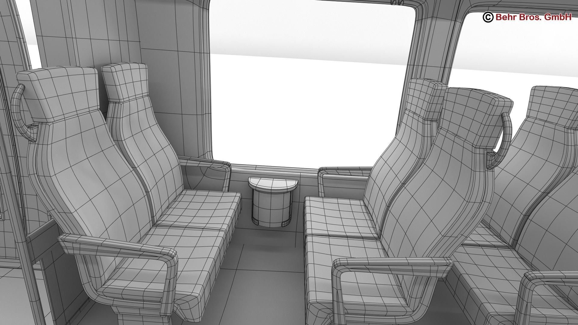 generic commuter train 3d model 3ds max fbx c4d ma mb obj 206655