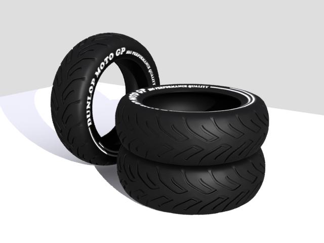 tire moto 3d model max fbx 206732