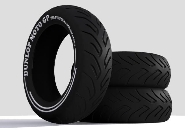 tire moto 3d model max fbx 206733