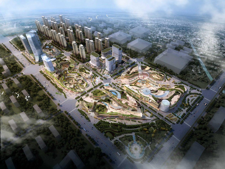 city shopping mall 001 3d model max 206741