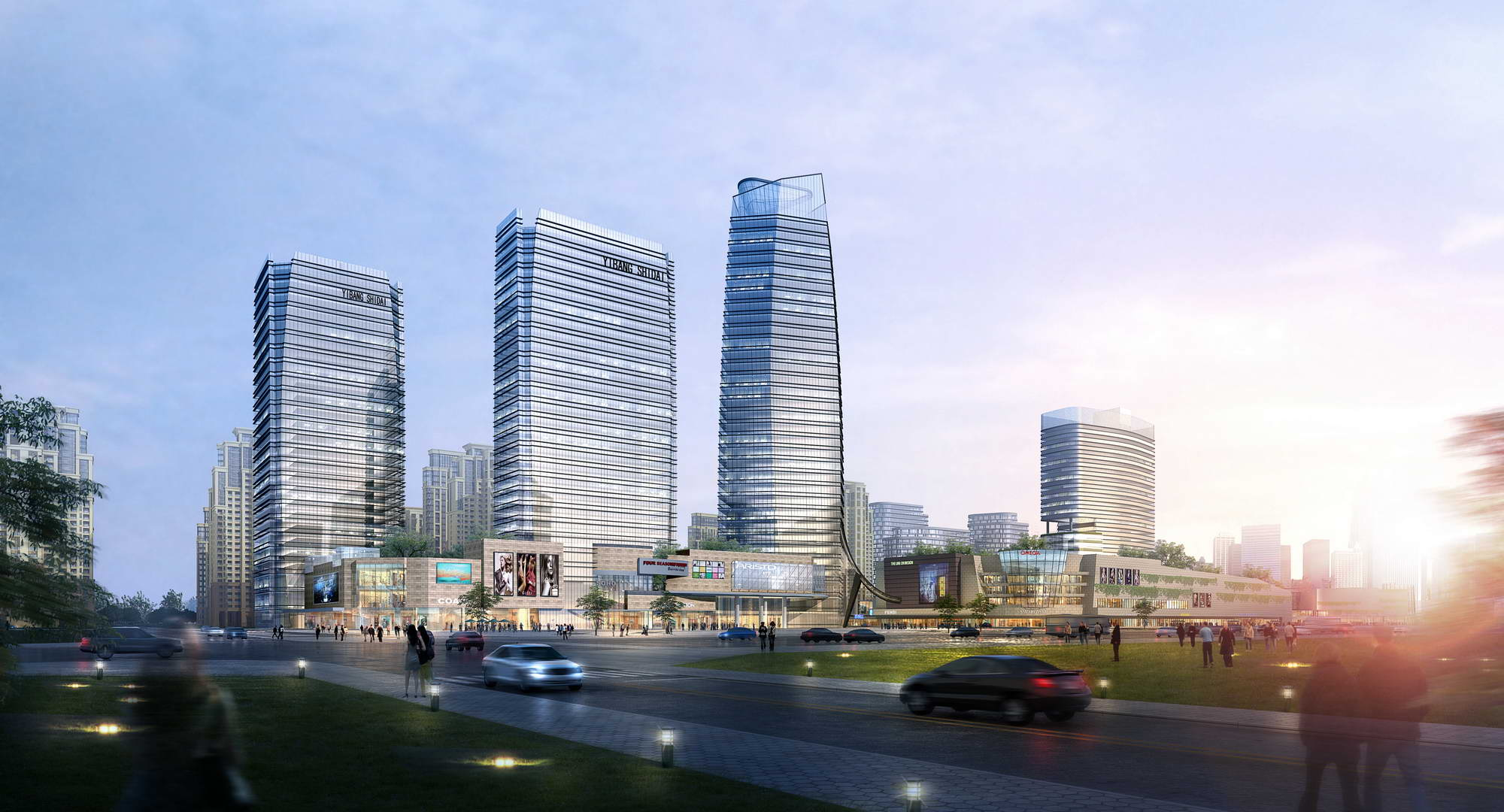 city shopping mall 001 3d model max 206742