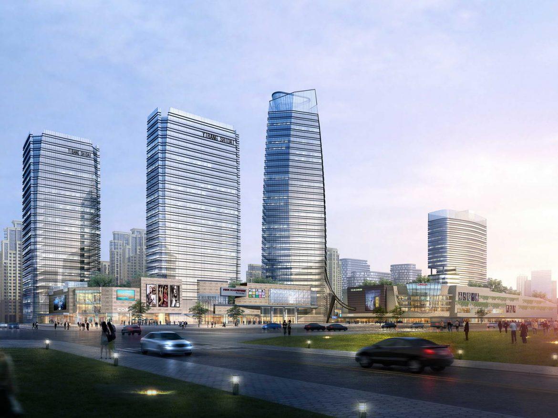 City shopping mall 001 ( 227.27KB jpg by Abe_makoto )