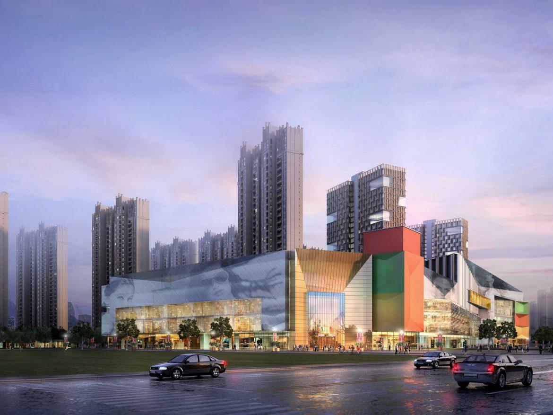 City shopping mall 002 3d model 0