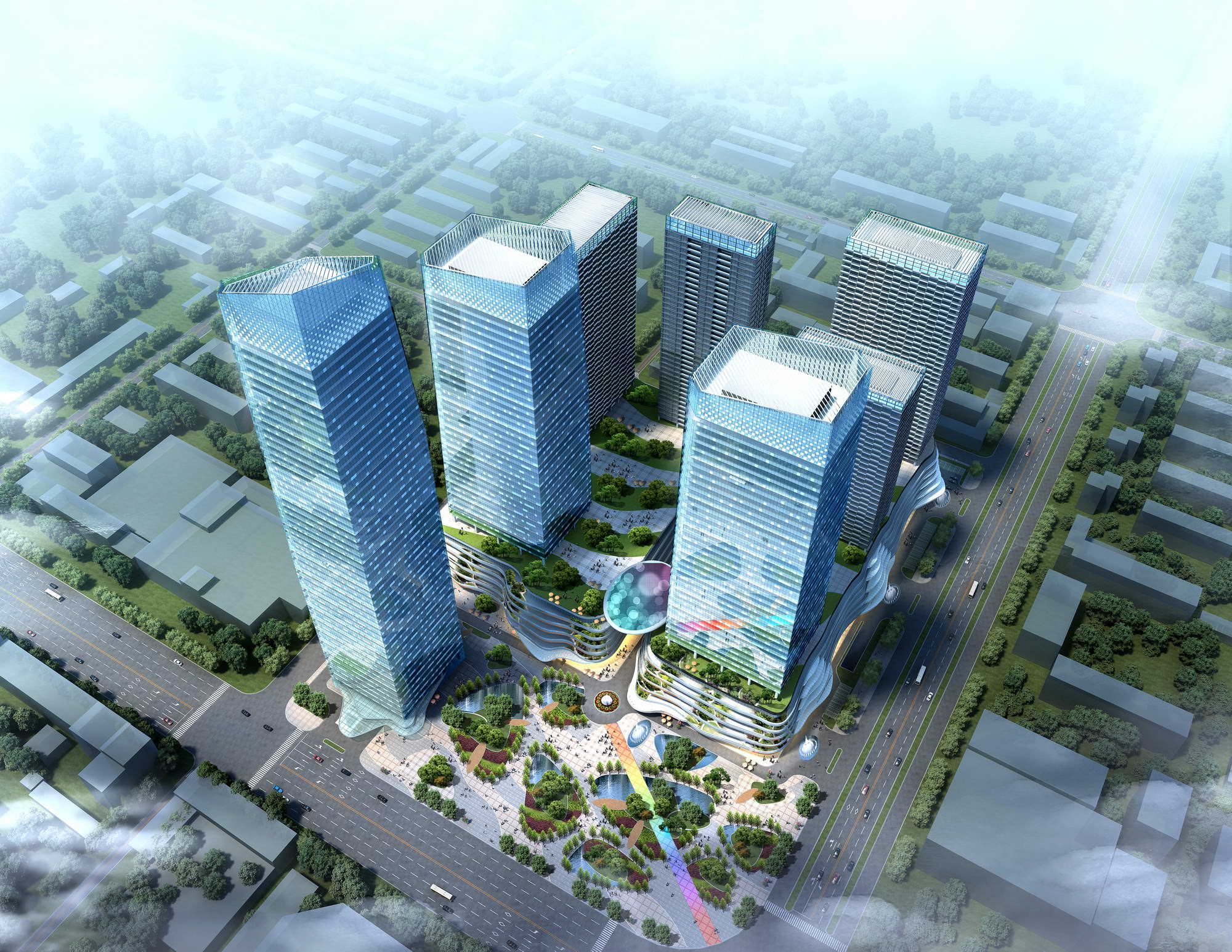 city shopping mall 006 3d model max 206763