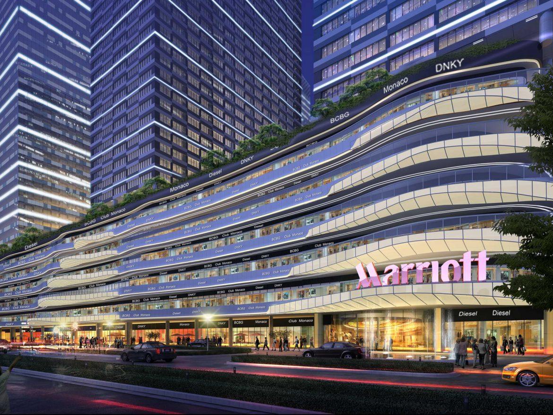 City shopping mall 006 3d model 0
