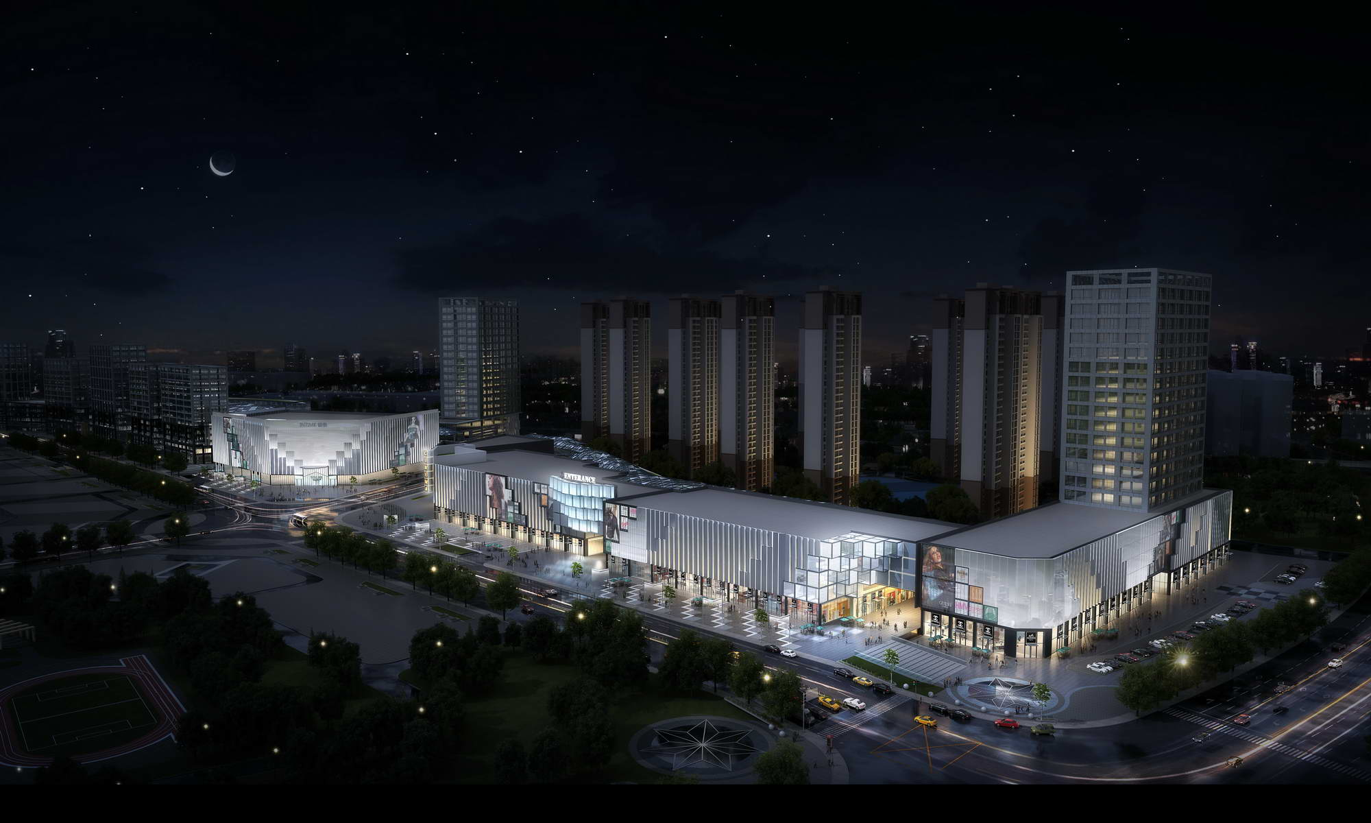 city shopping mall 005 3d model max 206771