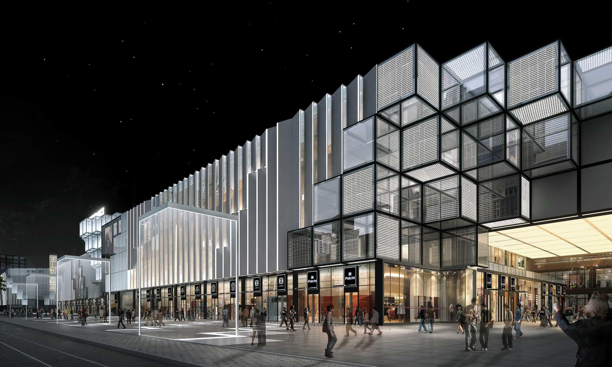 city shopping mall 005 3d model max 206773