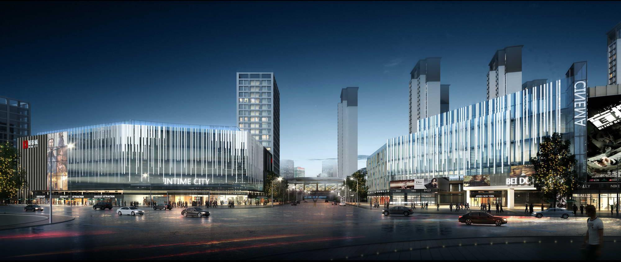 city shopping mall 005 3d model max 206774