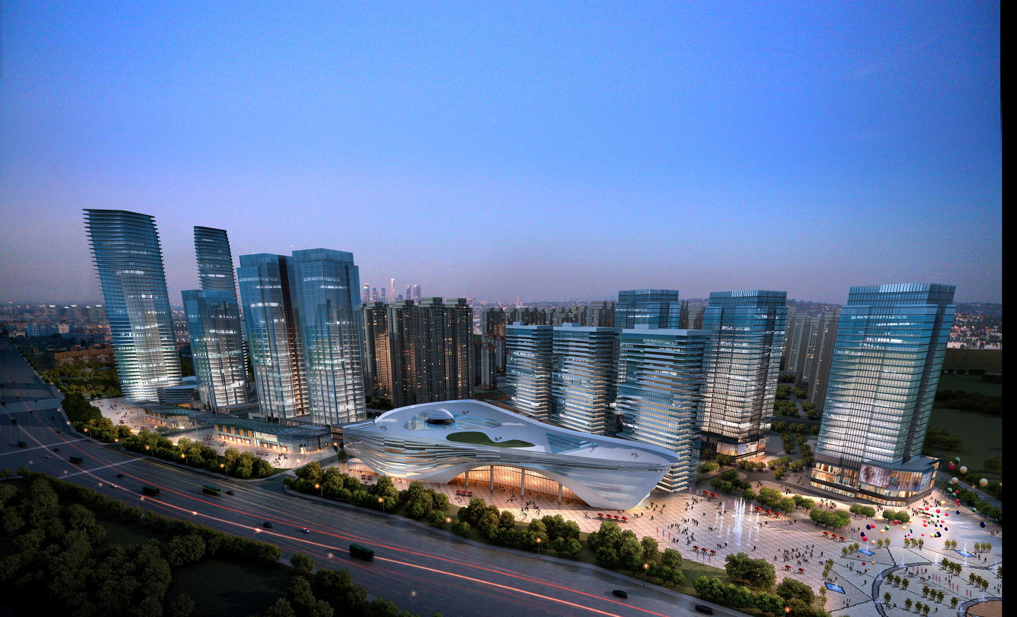 city shopping mall 008 3d model max 206786