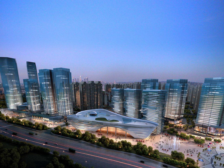 City shopping mall 008  ( 351.29KB jpg by Abe_makoto )