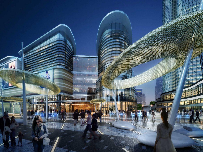 City shopping mall 009  ( 552.07KB jpg by Abe_makoto )