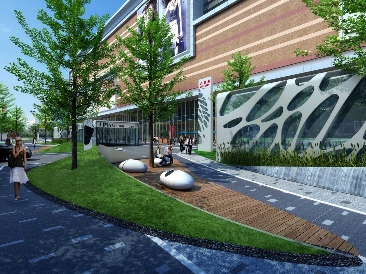 city shopping mall 009 3d model max 206795