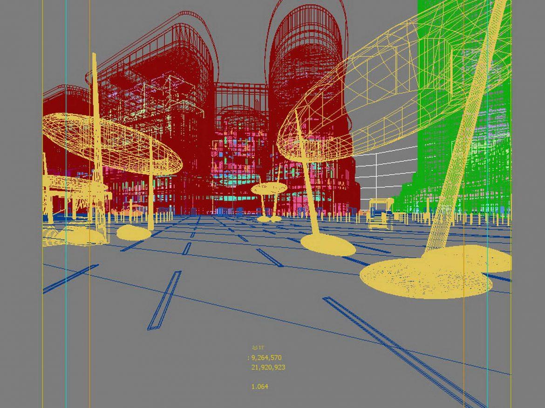 City shopping mall 009  ( 431.92KB jpg by Abe_makoto )