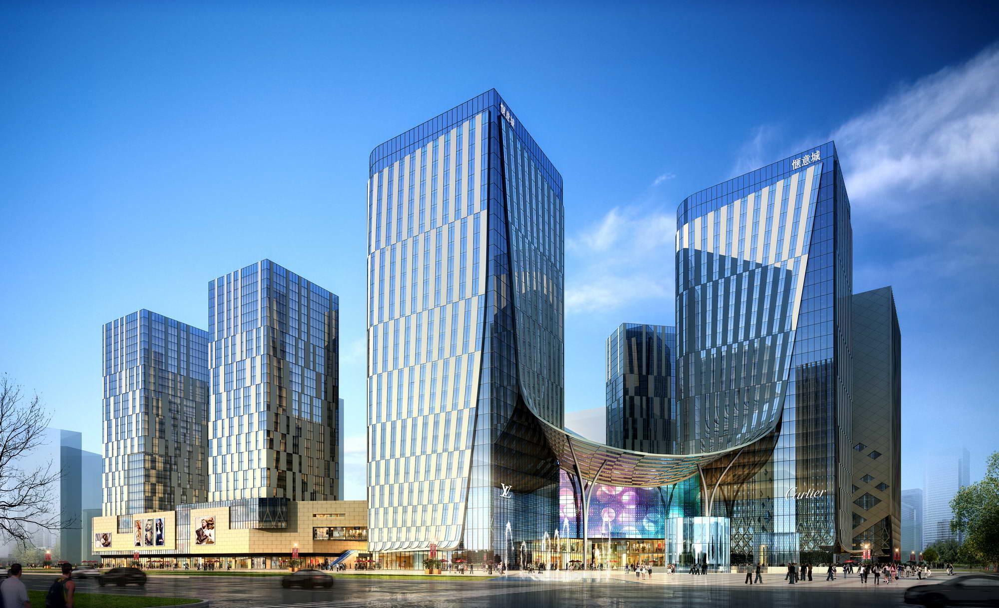 city shopping mall 010 3d model max 206804