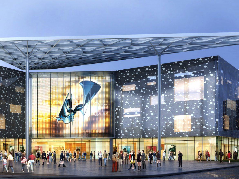 City shopping mall 011  ( 3383.62KB jpg by Abe_makoto )