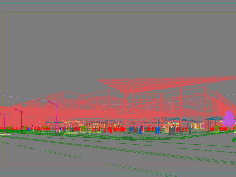 City shopping mall 011  ( 148.88KB jpg by Abe_makoto )