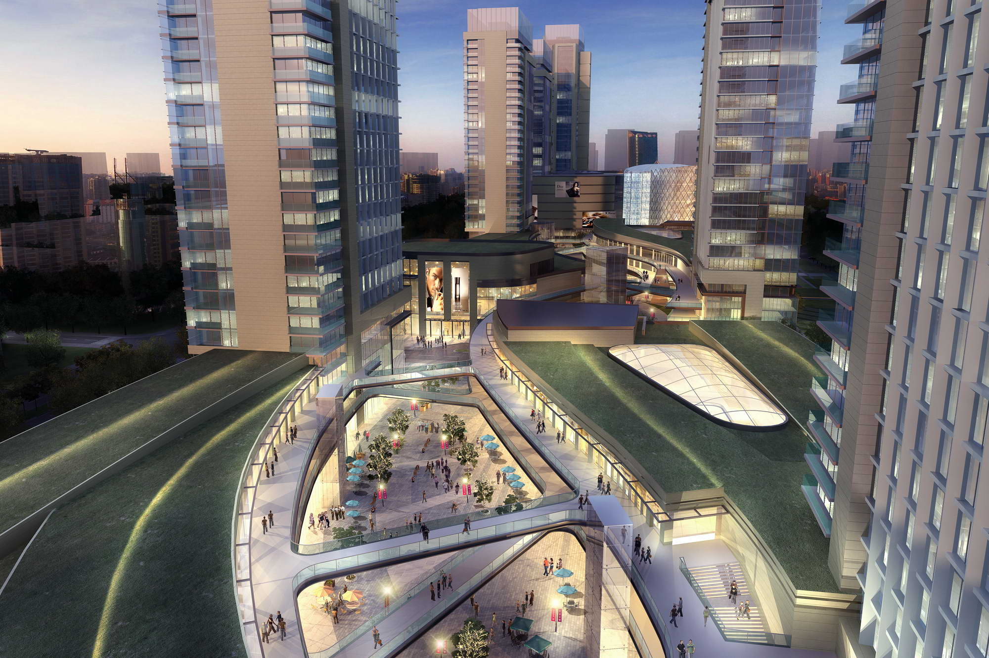 city shopping mall 012 3d model max 206815