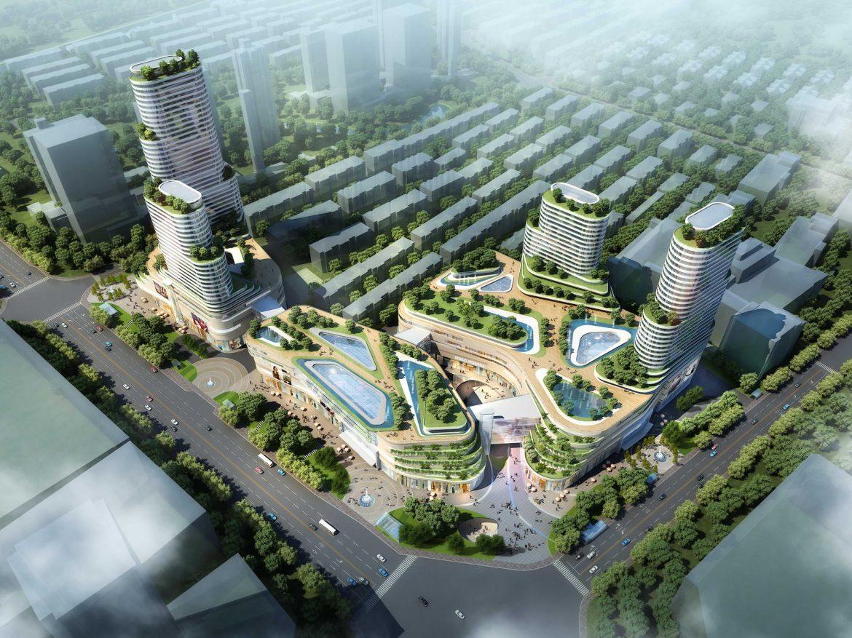 City shopping mall 014  ( 461.43KB jpg by Abe_makoto )