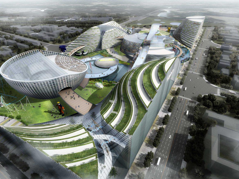 City shopping mall 015  ( 537.56KB jpg by Abe_makoto )