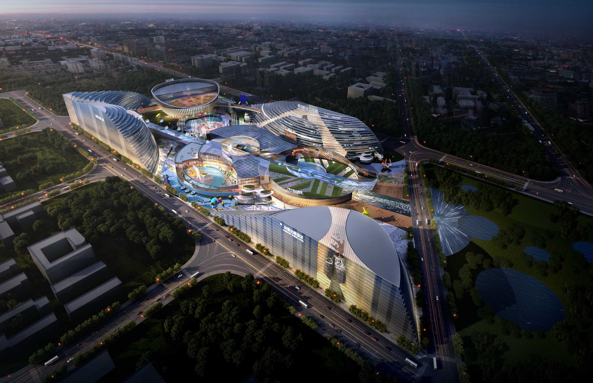 city shopping mall 015 3d model max 206840