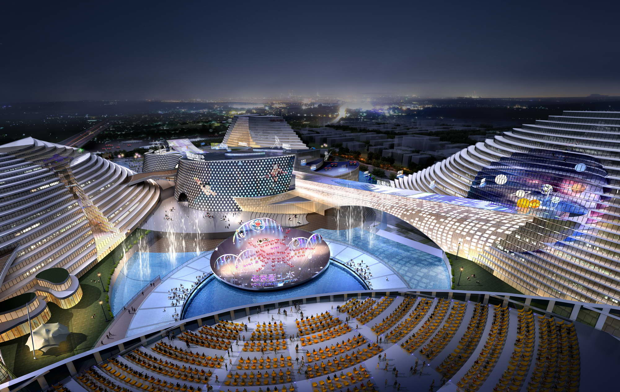 city shopping mall 015 3d model max 206841