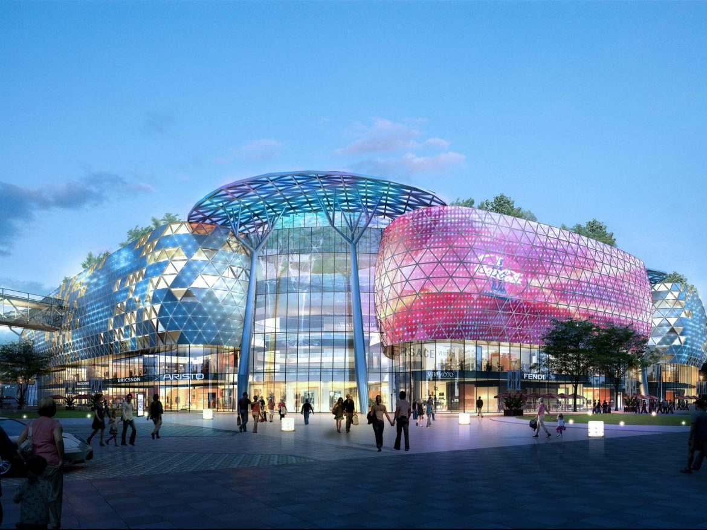 City shopping mall 019  ( 335.07KB jpg by Abe_makoto )