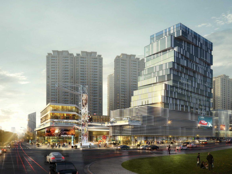 City shopping mall 021  ( 297KB jpg by Abe_makoto )