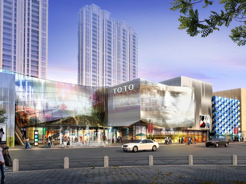 City shopping mall 021  ( 397.06KB jpg by Abe_makoto )
