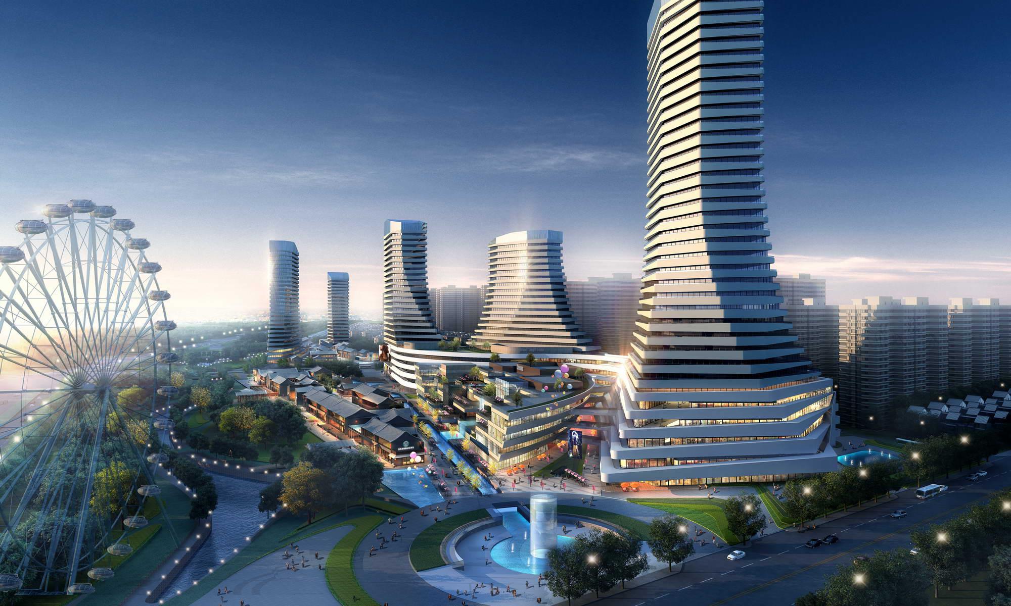 city shopping mall 023 3d model max 206897