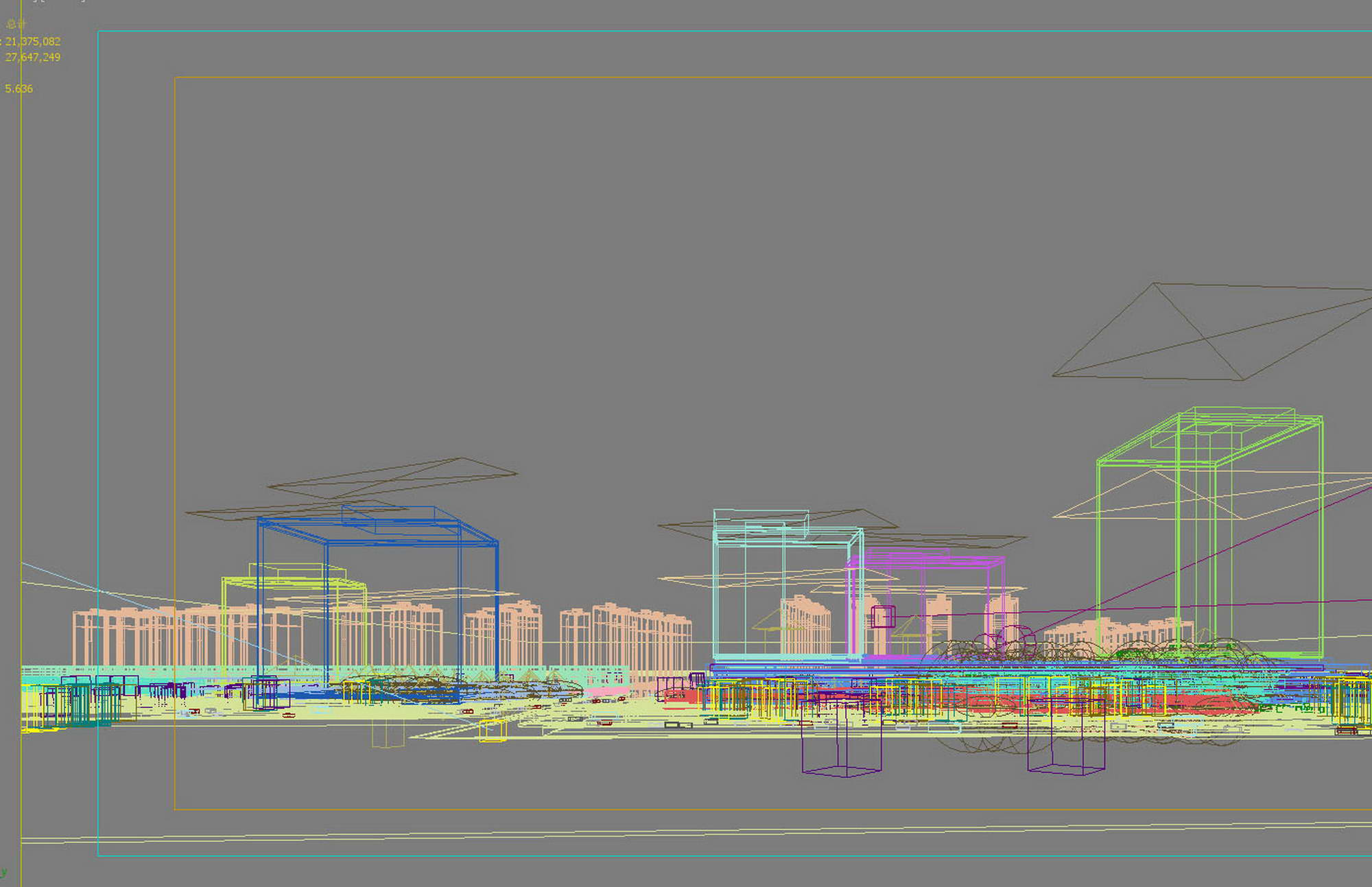 city shopping mall 023 3d model max 206900