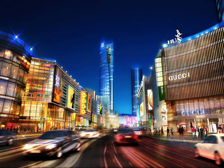 City shopping mall 024 3d model 0