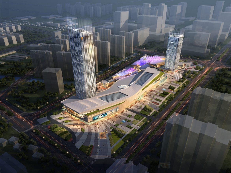 city shopping mall 025 3d model max psd 206912