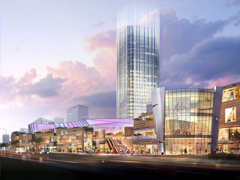 city shopping mall 025 3d model max psd 206917