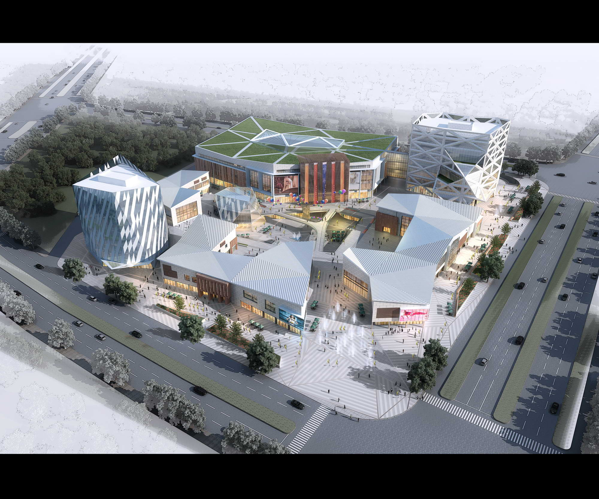 city shopping mall 027 3d model max 206927