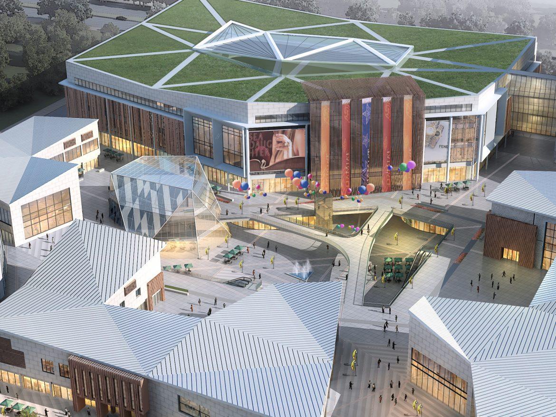 City shopping mall 027 ( 2617.64KB jpg by Abe_makoto )