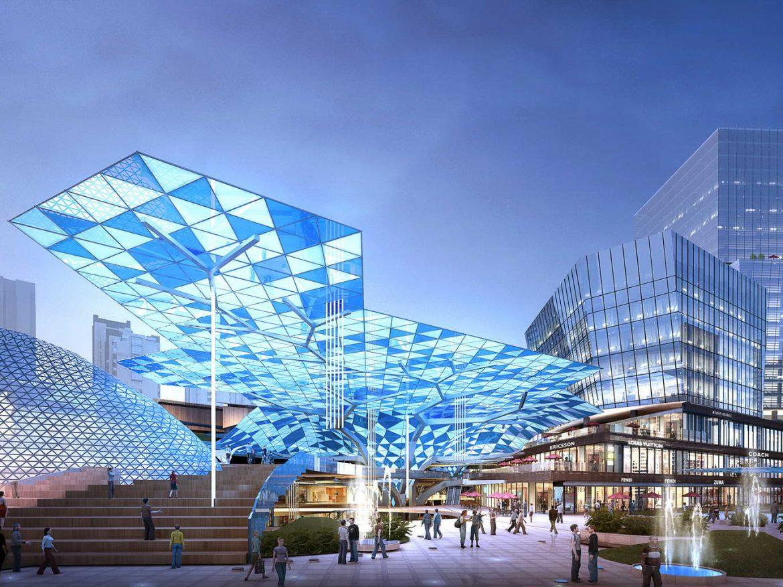City shopping mall 028  ( 332.04KB jpg by Abe_makoto )