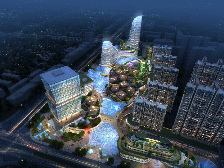 City shopping mall 028  ( 428.15KB jpg by Abe_makoto )