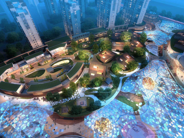 City shopping mall 028  ( 594.64KB jpg by Abe_makoto )