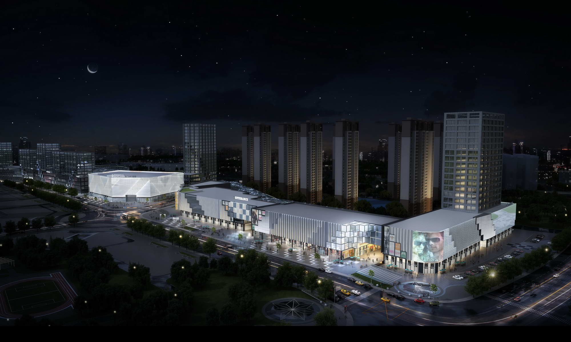 city shopping mall 030 3d model max 206949