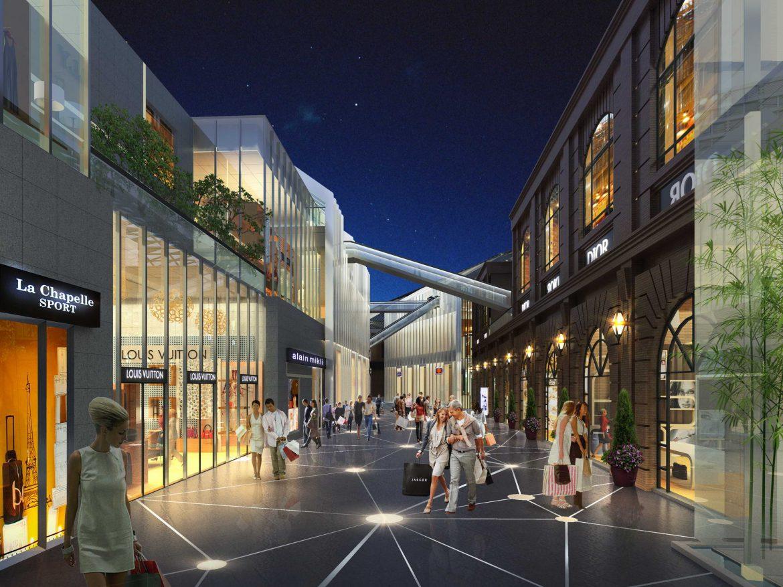 City shopping mall 030  ( 423.35KB jpg by Abe_makoto )