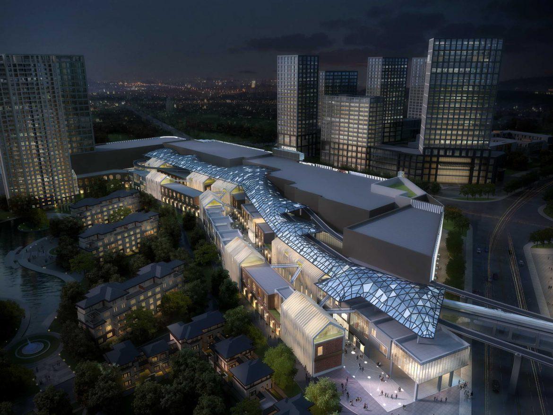 City shopping mall 030  ( 301.85KB jpg by Abe_makoto )